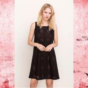 🆕Mystree Back Lace Up Dress NWT